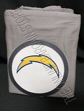 Pottery Barn Teen NFL Football Patch Duvet Cover Twin San Diego Chargers Gray