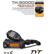 Portable TYT TH-9000D 60W VHF 136-174Mhz Ham Two Way Radio Transceiver LCD Black