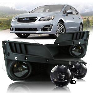 For 2014-2017 Subaru Impreza CREE LED Fog Lights w/Wiring Kit - Clear
