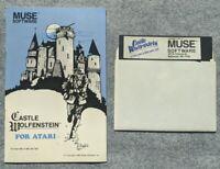 Castle Wolfenstein Atari 400 800 Home Computer Muse Software vintage game 1983