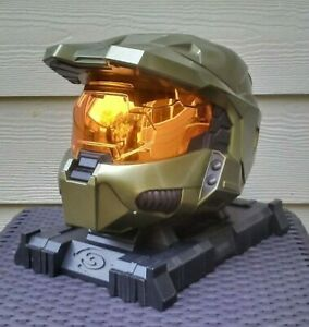 Halo 3 Legendary Edition Master Chief Helmet with stand 524926 FREE SHIPPING