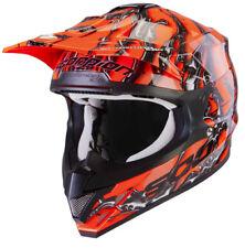 Casco moto cross Scorpion vx 15 air oil arancione