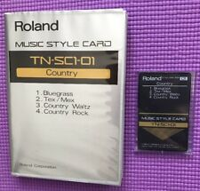 Roland Music Style Card Country TN-SC1-01