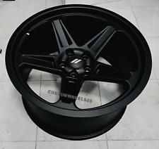 "Dodge Demon Wheels Satin Black 20x9.5/20x10.5"" SET Challenger Charger Hellcat"