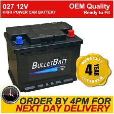 027 Heavy Duty Car Battery fits many Mercedes Mitsu Nissan Peugeot Renault