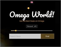 OMEGA WATCHES Website|Upto £1,694 A SALE|FREE Domain|FREE Hosting|FREE Traffic