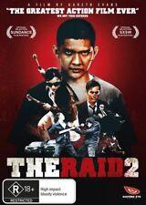 The Raid 2 (DVD, 2014) Brand new sealed free post!!