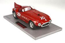 BBR Ferrari 340/375 MM Vignale Spyder #20c Carrol Shelby Torrey Pines Race 1/18