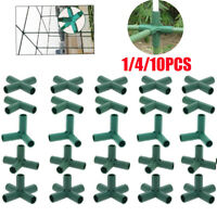 1/4/10PCS Plant Awning Structure Joints Connector Plastic Pipe Frame Greenhouse