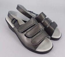 Jasmine Leather Comfort Sandal - Pewter UK 5 EU 38 JS34 23