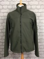 C.P. COMPANY UK XXL SAGE GREEN SOFT SHELL FULL ZIP GOGGLE JACKET RRP £299 CP