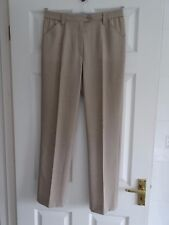 Ladies Formal Beige Trousers by Michele Size 10