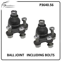 2 x FRONT BOTTOM ARM SUSPENSION BALL JOINT for a Peugeot 207 & Citroen C3