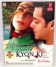 Kyon Ki (2-disc Video CD / VCD, 2005) Kareena Kapoor, in Hindi, No Subtitles