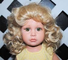 Monique Doll wig Mabel size 10-11 BLONDE