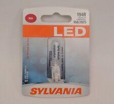 Sylvania LED Red 194R - 1 Tail Light Bulb 168 2825 - SHIPS FREE