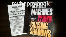 SIGNED Sekret Machines by A. J. Hartley and Tom DeLonge, UFO, new, autographed