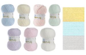 Acrylic James Brett Baby 4 Ply Knitting Yarn & Free Pattern 1 5 or 10 100g Balls