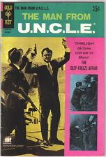 The Man From U.N.C.L.E. Comic Book #20, Gold Key 1968 FINE+