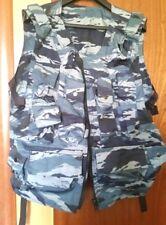 Russian Army OMON vest BLUE KAMYSH URBAN Camo MVD Spetsnaz by ANA Tacticals