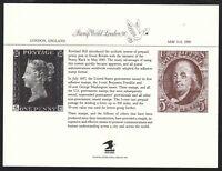 1990 Stamp World London, souvenir card SCCS: PS-70