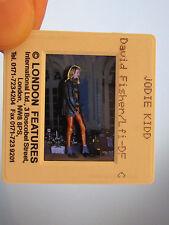 Original Press Promo Slide Negative - Jodie Kidd - 1990's - Model