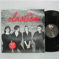 ELASTICA - S/T LP 1995 US ORIG DGC OASIS BLUR CHARLATANS w/ limited booklet