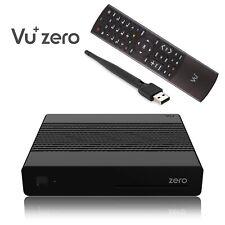 Vu+ Plus Zero E2 Linux Full HD H265 Récepteur Satellite Noir + 150Mbit Clé WLAN