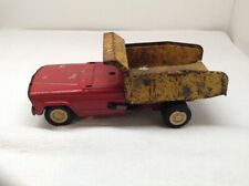 VINTAGE TONKA FORD DUMP TRUCK STEEL TOY PARTS OR RESTORE 9-1/2""