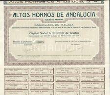 ALTOS HORNOS DE ANDALUCIA (ESPAGNE)  (A)