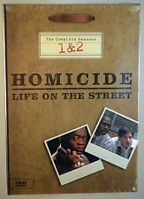 Homicide: Life on the Street - The Complete Seasons 1 & 2 DVD, 2003, 4-Disc Set