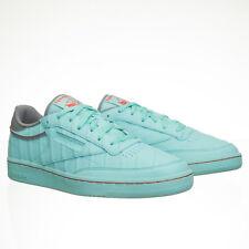 Solebox x Reebok Classic Club C 85 Turquoise Blue Sneakers - Mens 9.5 M