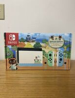 Nintendo Switch Animal Crossing New Horizons Special Edition Console 32gb