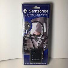 Samsonite Carrying Case Alarm Luggage Suitcase Briefcase Alarm Purse Security
