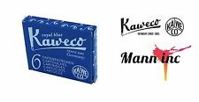 Kaweco 6 Cartouches D''''encre Blue Roi