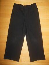 Boys PANTS Dress pants size 4 Black Pinstripes Church Wedding GEORGE