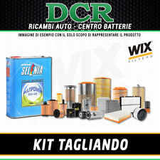 KIT TAGLIANDO FIAT GRANDE PUNTO 1.4 GPL 78CV 57KW DAL 12/2008 + SELENIA 5W40