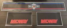 Nba Jam Tournament Edition Arcade Control Panel Box Art Artwork Decal Te Midway