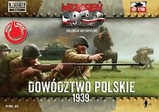 First to Fight 1/72 Polish Headquarters - Polish Infantry Officers # 023