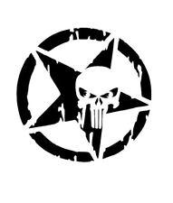 high detail airbrush stencil flame skull star FREE UK  POSTAGE