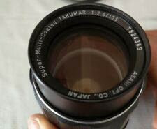 PENTAX Super-Multi-Coated Takumar 105mm F2.8 Lens--Excellent++ Condition