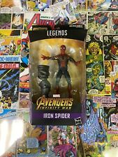 Marvel Legends Hasbro Avengers Infinity War Spiderman Iron Spider Thanos Baf New