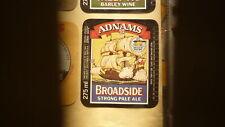 OLD BRITISH BEER LABEL, SOLEBAY BREWERY ADNAMS SOUTHWOLD, BROADSIDE PALE ALE 2
