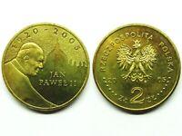 2 złote 2005, Papst Johannes Paul II, Münze von Polen DE