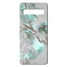 For Samsung Galaxy S10 PLUS Silicone Case Floral Flower Art Print - S6712