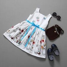 Skirt Baby Kids Girls Dress Korean Girls Jumpsuit Butterfly Print Dress 140 US