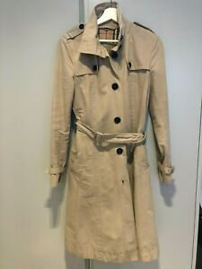 Burberry Brit trench coat beige size UK 10 (42)