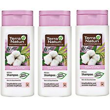 Lot de 3 Shampooing Sensitiv Bio Vegan cheveux sensibles - TERRA NATURI