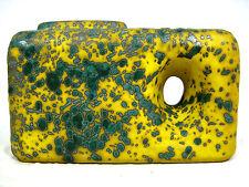 70´s design Roth Céramique Vase with integrated Handle RARE Glaze variation 2005