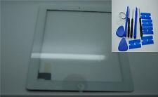 Nuevo iPad 2 Digitalizador, Pantalla Táctil, Vidrio Frontal Blanco, 3M Adhesivo
